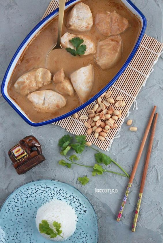 schnelle-einfache-erdnuss-sauce-mit-pute